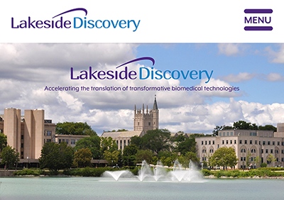 Lakeside Discovery website screenshot